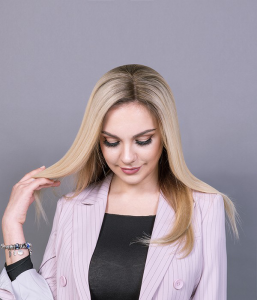 light and cool shades hair extensions